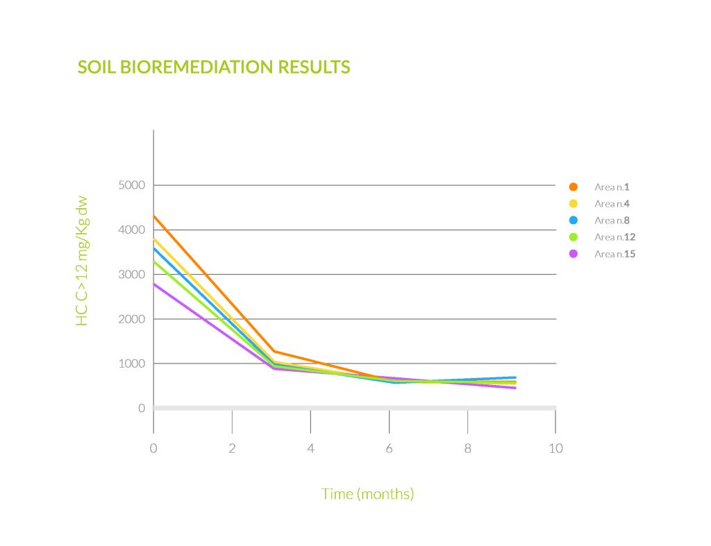 Hydrocarbons bioremediation
