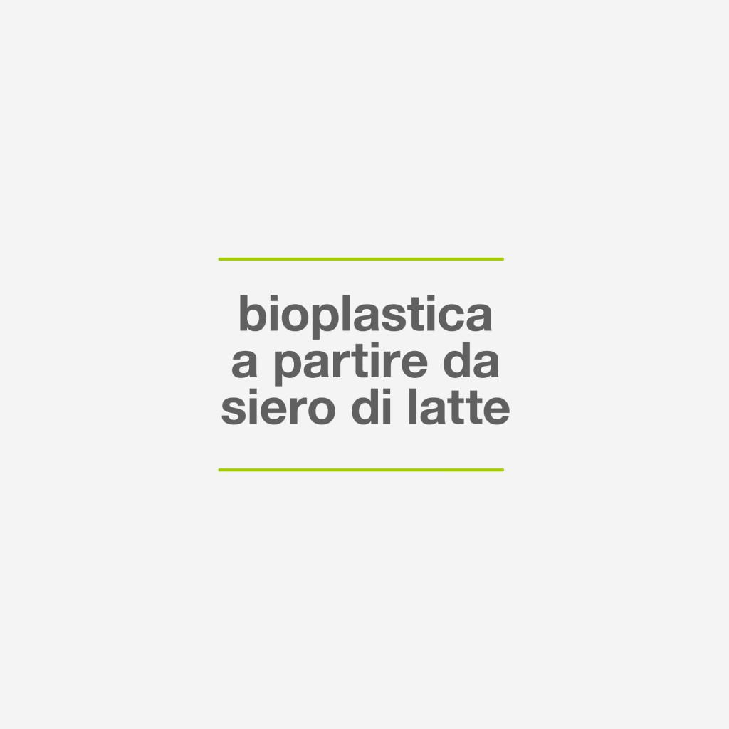 BIOPLASTICA DA SIERO DI LATTE